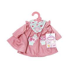 Одежда для куклы my first Baby Annabell Zapf Creation розового цвета, 36 см