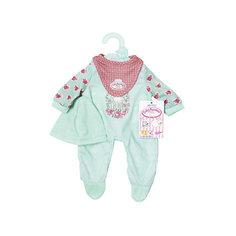 Одежда для куклы  my first Baby Annabell мятного цвета , 36 см Zapf Creation