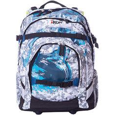 Рюкзак iKON, бирюзово-голубой