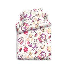 Детское постельное белье 1,5 сп. Кошки-мышки, Мурка