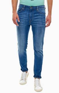 Зауженные синие джинсы со стандартной посадкой Mustang