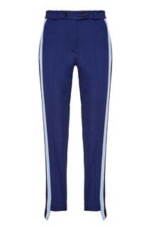 Синие брюки с лампасами Golden Goose Deluxe Brand