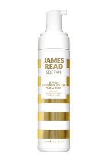 Экспресс мусс-автозагар для лица и тела EXPRESS BRONZING MOUSSE FACE&BODY, 200 ml James Read
