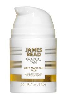 Ночная маска для лица Уход и Загар SLEEP MASK TAN FACE, 50 ml James Read