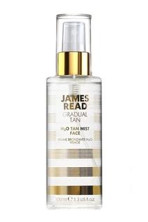 Спрей для лица Освежающее Сияние H2O TAN MIST FACE, 100 ml James Read