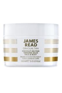Кокосовый бальзам с эффектом загара COCONUT MELTING TANNING BALM, 150 ml James Read