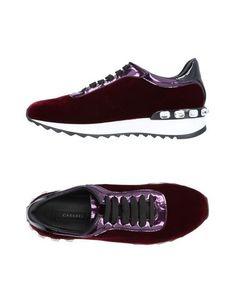 Низкие кеды и кроссовки Casadei