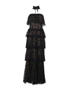 Длинное платье Tadashi Shoji