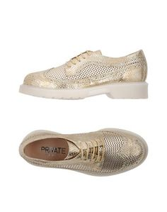 Обувь на шнурках Private
