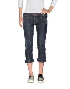 Джинсовые брюки-капри Blue Blood