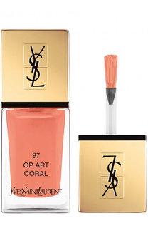 Лак для ногтей La Laque Couture, оттенок 97 YSL