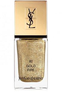 Лак для ногтей La Laque Couture, оттенок 92 YSL