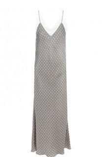 Платье-комбинация с кружевной отделкой и принтом Walk of Shame