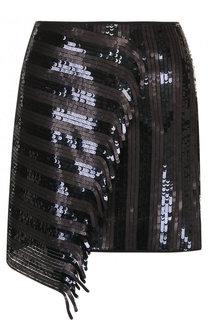 Мини-юбка с оборками и пайетками Dorothee Schumacher