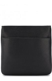Кожаная сумка-планшет Emporio Armani