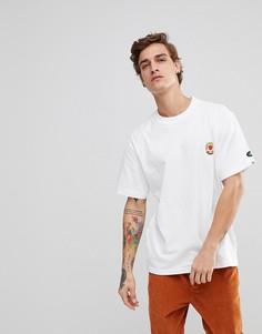 Белая футболка с логотипом Element - Белый