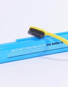 Зубная щетка с древесным углем Anatomicals And Aint That The Tooth The Better Brush - Синий - Бесцветный