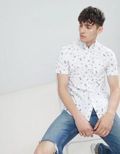Рубашка с короткими рукавами D-Struct - Белый