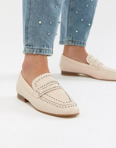 Туфли на плоской подошве с заклепками Miss KG Kathy - Бежевый