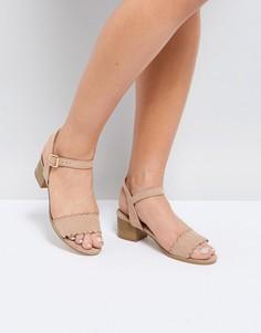 Босоножки на каблуке Miss KG Rosie - Бежевый
