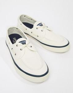 Белые мокасины-кроссовки Sperry Topsider - Белый