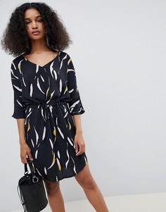 Платье с принтом mByM - Мульти