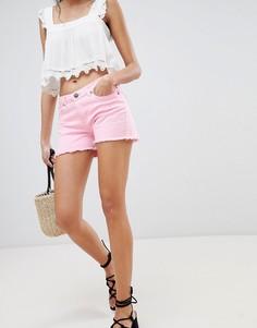 Джинсовые шорты Lasula - Розовый