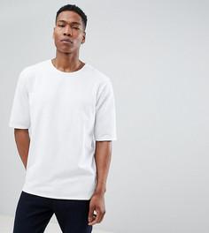 Трикотажная фактурная оверсайз-футболка Noak - Белый