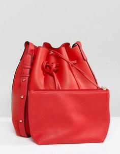 Сумка на плечо с кошельком Amy Lynn - Красный