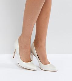 Туфли на высоком каблуке с острым носом ASOS PARIS - Кремовый