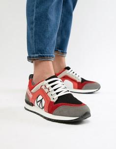 Беговые кроссовки Love Moschino - Красный