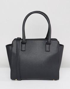 Черная большая сумка-тоут Yoki Fashion - Черный