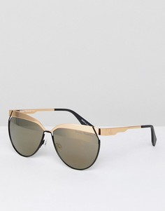 Солнцезащитные очки кошачий глаз Vivienne Westwood - Золотой