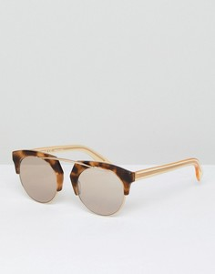 Солнцезащитные очки в стиле ретро Vivienne Westwood - Коричневый