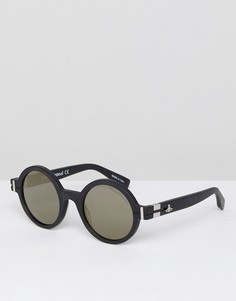 Круглые солнцезащитные очки Vivienne Westwood - Черный