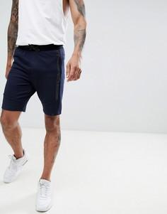 Флисовые спортивные шорты Dissident - Темно-синий