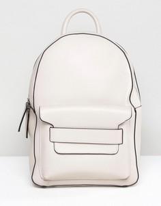 Рюкзак из искусственной кожи Melie Bianco - Светло-бежевый