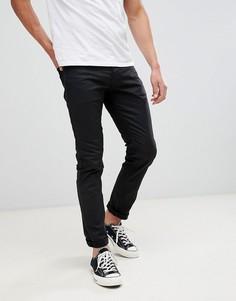 Черные джинсы слим Jack & Jones - Черный