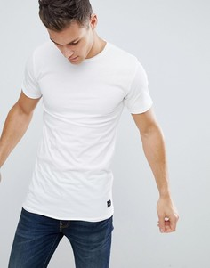 Удлиненная футболка Only and Sons - Белый