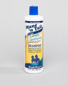 Мягкий очищающий шампунь 355 мл Mane n Tail - Бесцветный