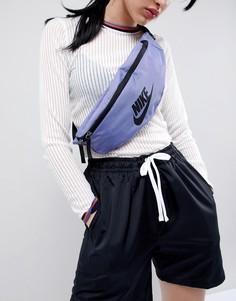 Фиолетовая сумка-кошелек на пояс с логотипом Nike - Фиолетовый