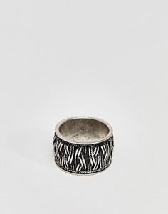 Серебристое кольцо ASOS DESIGN - Серебряный