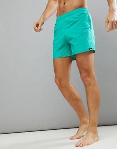 Зеленые шорты для плавания adidas CV7113 - Зеленый