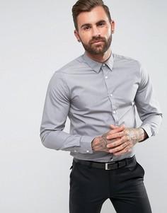 Светло-серая рубашка классического кроя New Look - Серый