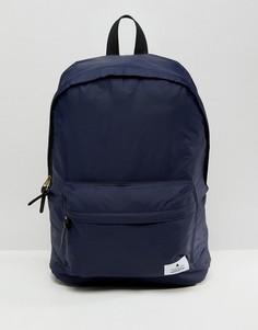 Темно-синий рюкзак с нашивками ASOS - Темно-синий