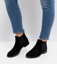 Ботинки челси для широкой стопы Park Lane - Черный