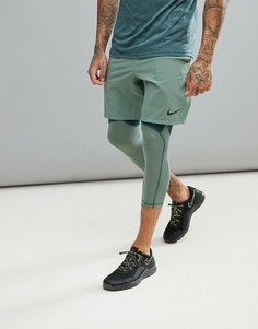 Зеленые шорты Nike Training Flex Vent Max 2.0 886371-365 - Зеленый