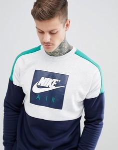Темно-синий свитшот Nike Air 886050-052 - Темно-синий