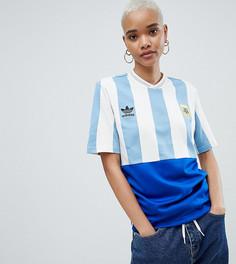 Футбольный топ adidas Originals Argentina Mashup - Синий