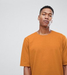 Трикотажная фактурная оверсайз-футболка Noak - Рыжий